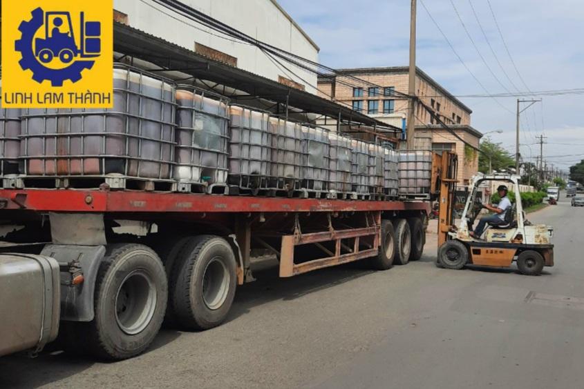 Cho Thuê Xe Nâng Tại Bình Dương - Linh Lam Thành Transport