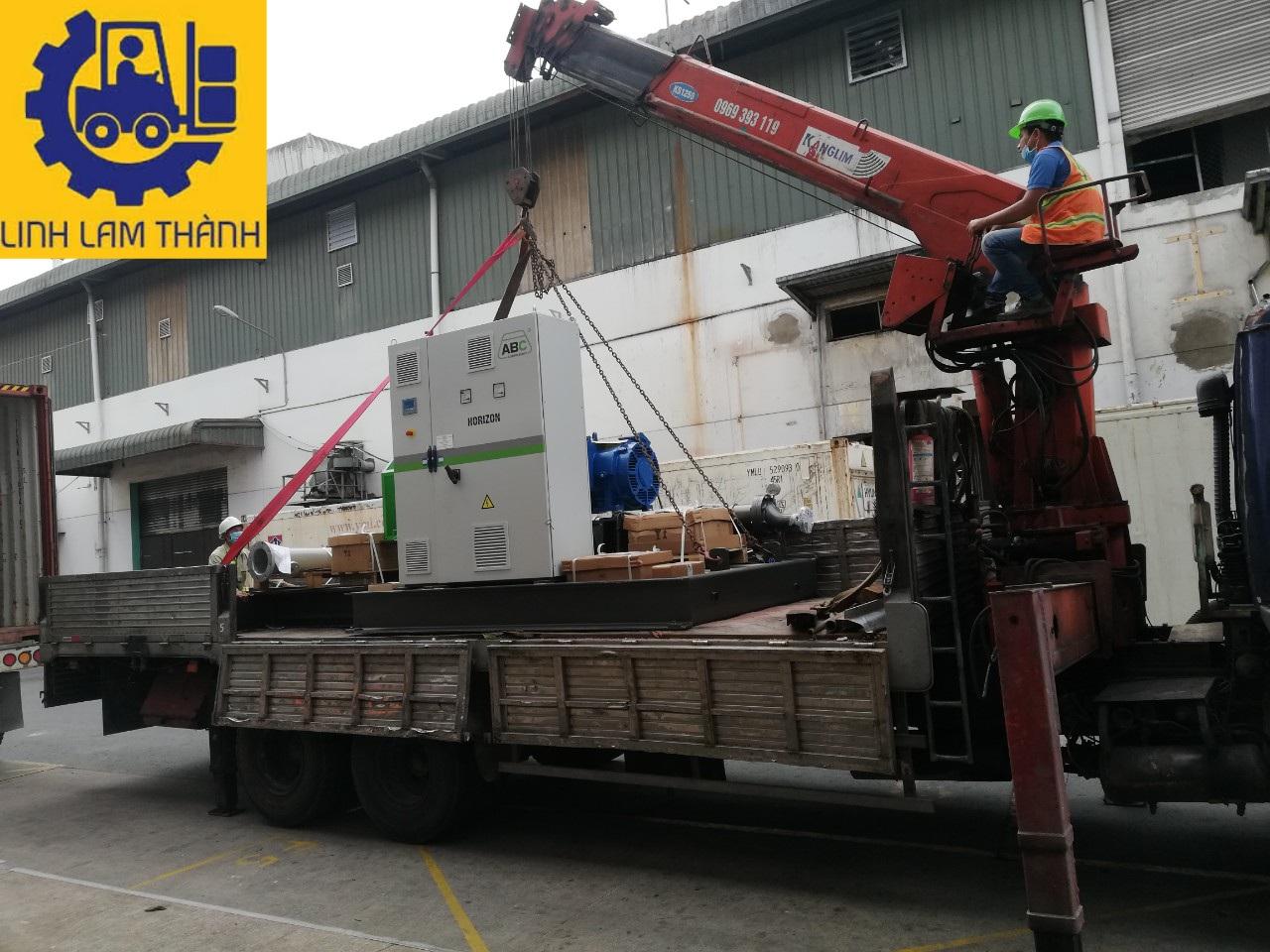 Cho Thuê Xe Cẩu Tại Bình Dương - Linh Lam Thành Transport