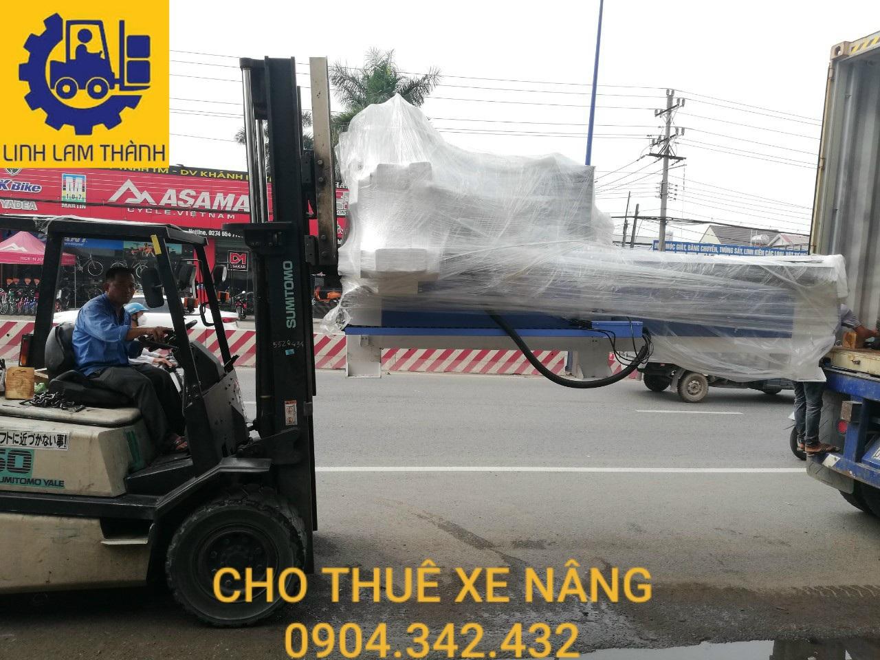 Cho Thuê Xe Nâng Tại Khu Vực Thuận An - Bình Dương.