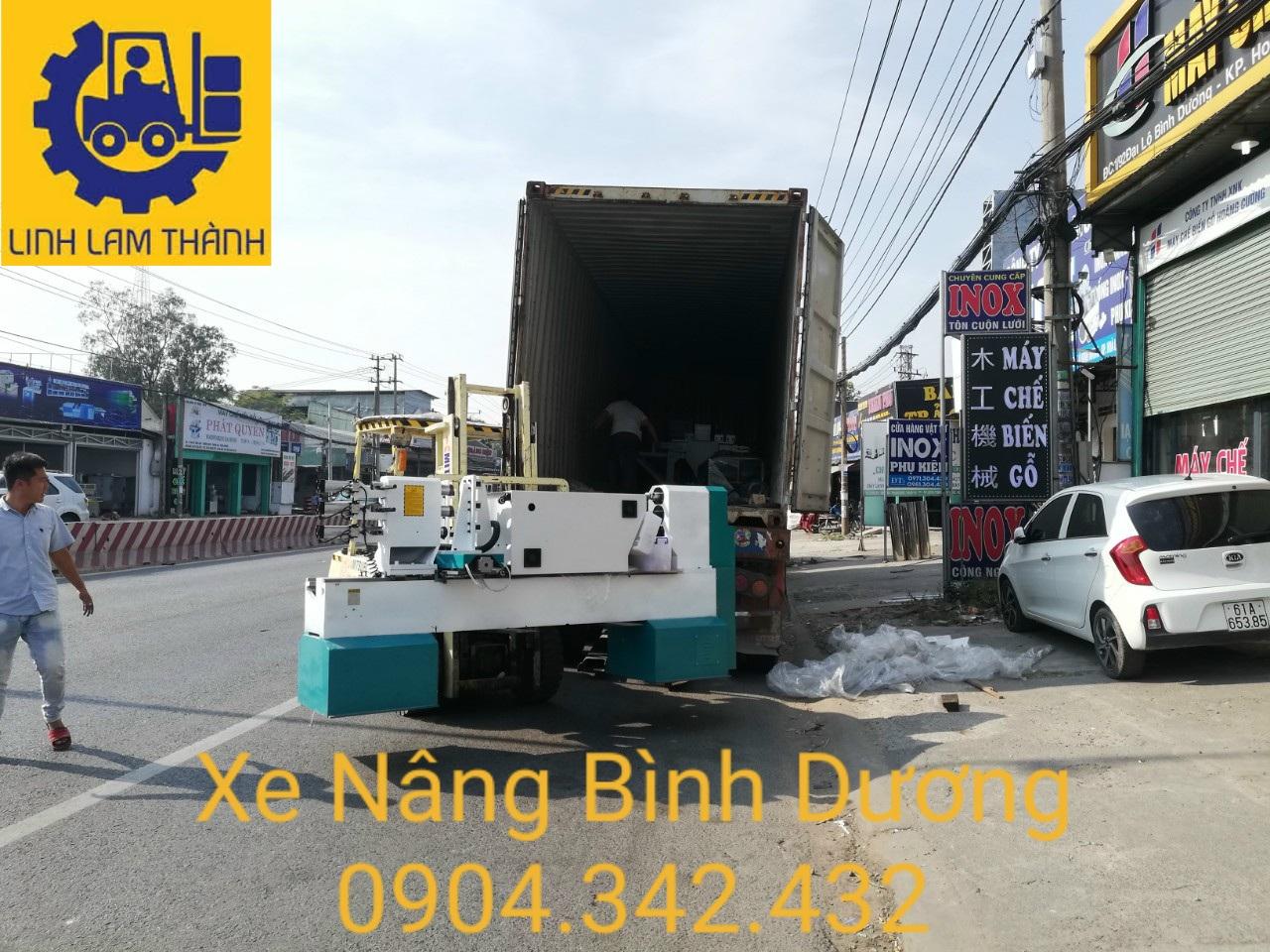 Dịch Vụ Cho Thuê Xe Nâng Giá Rẻ Tại Bình Dương , Tp.Hồ Chí Minh , Quận 12.