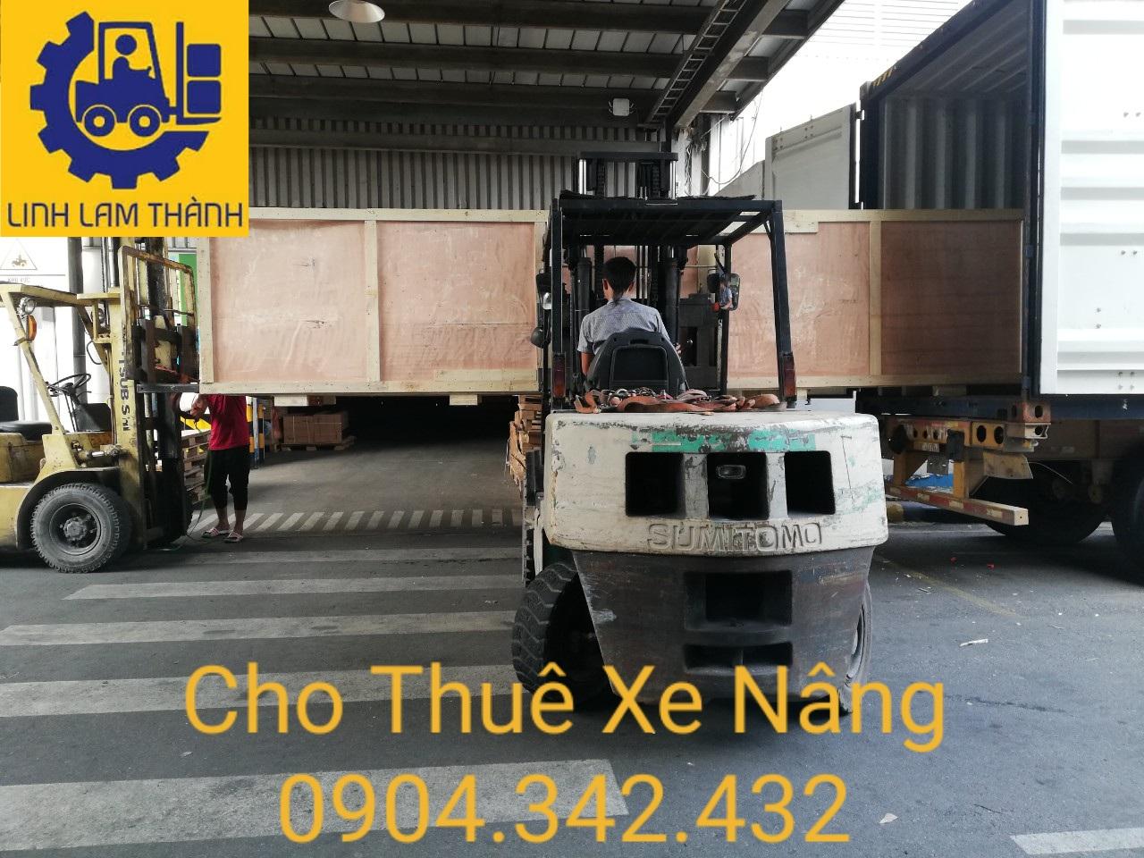Cho Thuê Xe Nâng 5 Tấn Giá Rẻ Tại Bình Dương ,Đồng Nai , Tp Hồ Chí Minh
